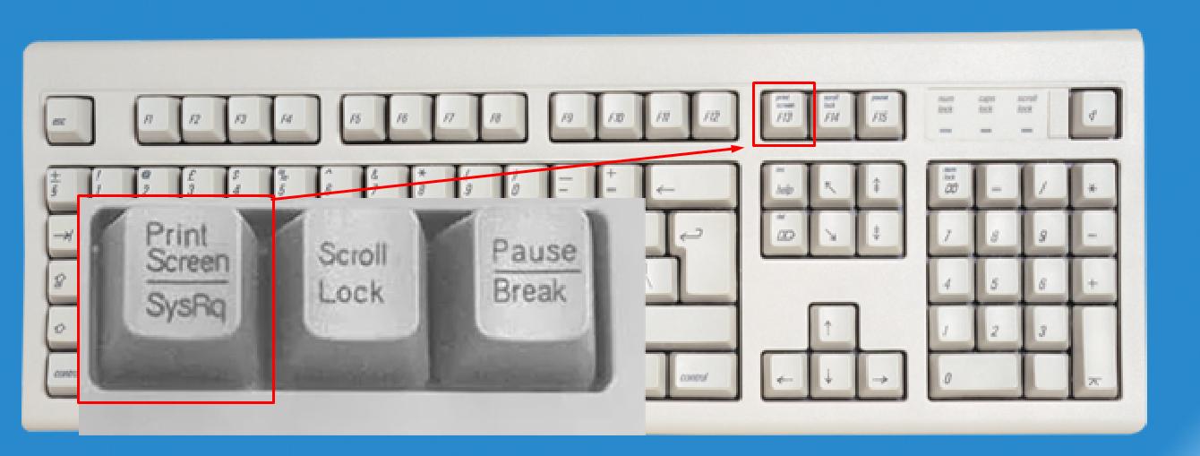 Кнопка Prt Scrn на клавиатуре