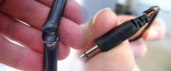 битый кабель