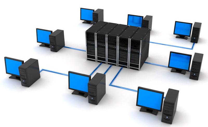 Компьютеры объединяются в сеть