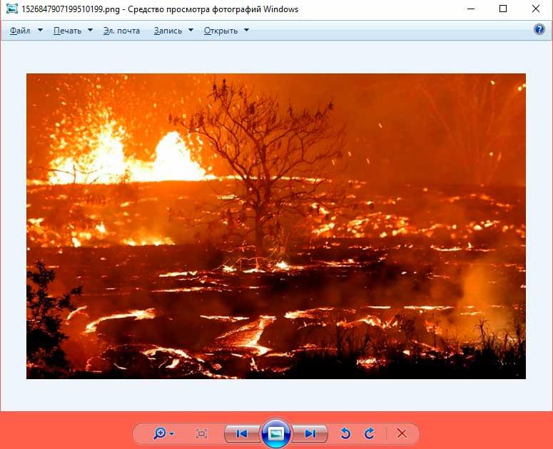 Классическое приложение для просмотра фотографий